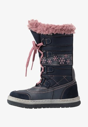 ALPY-TEX - Winter boots - navy/rose