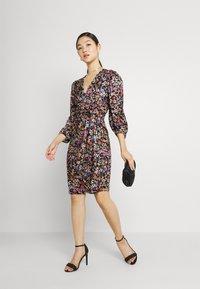 Soaked in Luxury - KIMAYA WRAP DRESS - Day dress - multi-coloured - 1