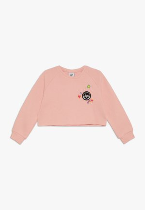 KIDS CROP CREW  STAR - Sweatshirt - pink