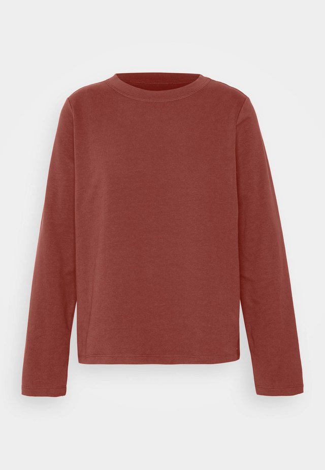 COZY  - Sweater - rust orange