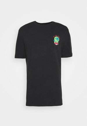 INDEPENDENCE UNISEX  - Print T-shirt - black