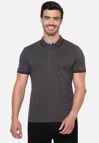 3 PACK - Polo shirt - grey blue