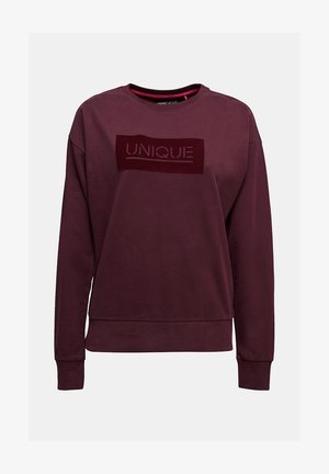 Sweater - bordeaux red