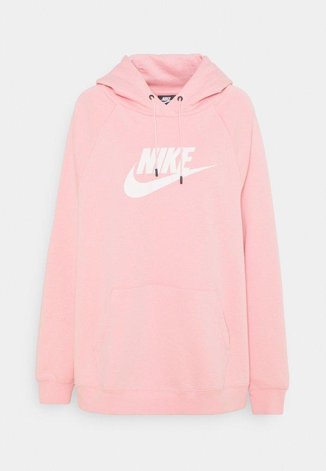 Sweatshirt - pink glaze/white