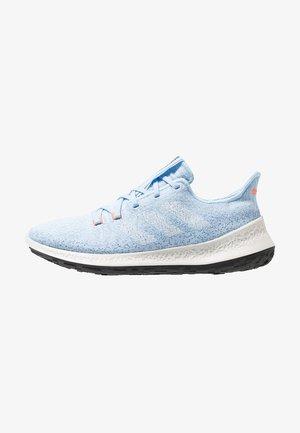 SENSEBOUNCE - Neutral running shoes - glow blue/footwear white/solar orange