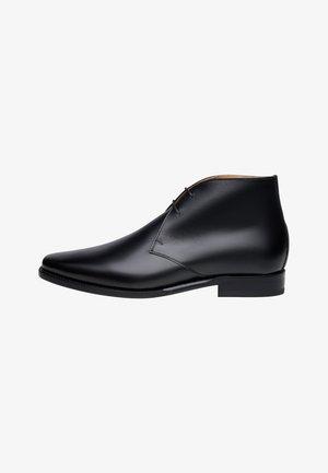 NO. 6626 - BOOTS - Stringate eleganti - schwarz