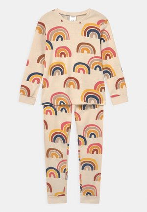 MINI RAINBOW UNISEX - Pyjama set - light beige