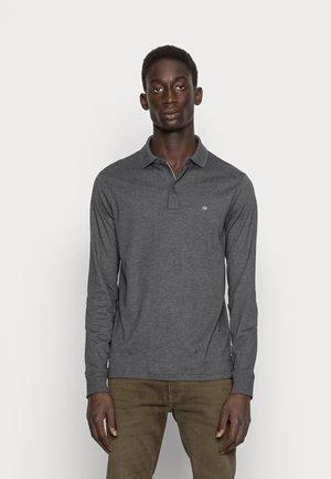LIQUID TOUCH SLIM  - Poloshirt - dark grey heather
