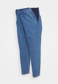 MAIAMAE - BALLOON - Straight leg jeans - mid wash - 0