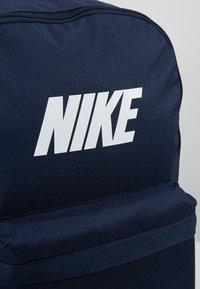 Nike Sportswear - HERITAGE  - Rucksack - obsidian/white - 7