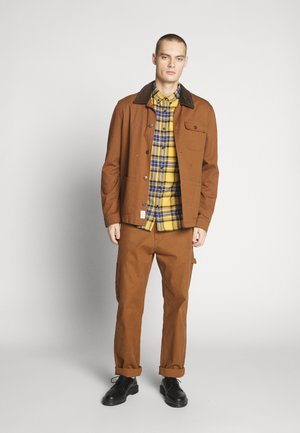 CHECK - Skjorta - bright yellow