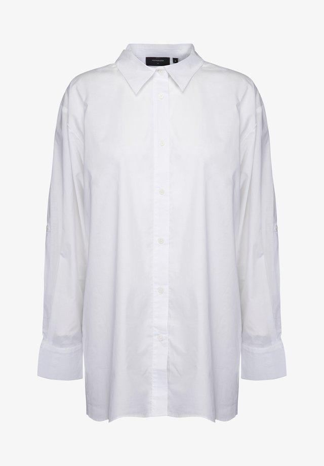 Overhemdblouse - white
