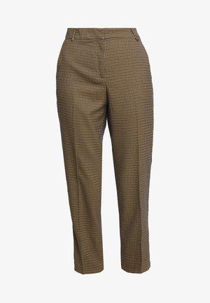 FORMAL - Trousers - bark