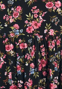 Vila - VICARE LAYER DRESS - Sukienka letnia - black - 4