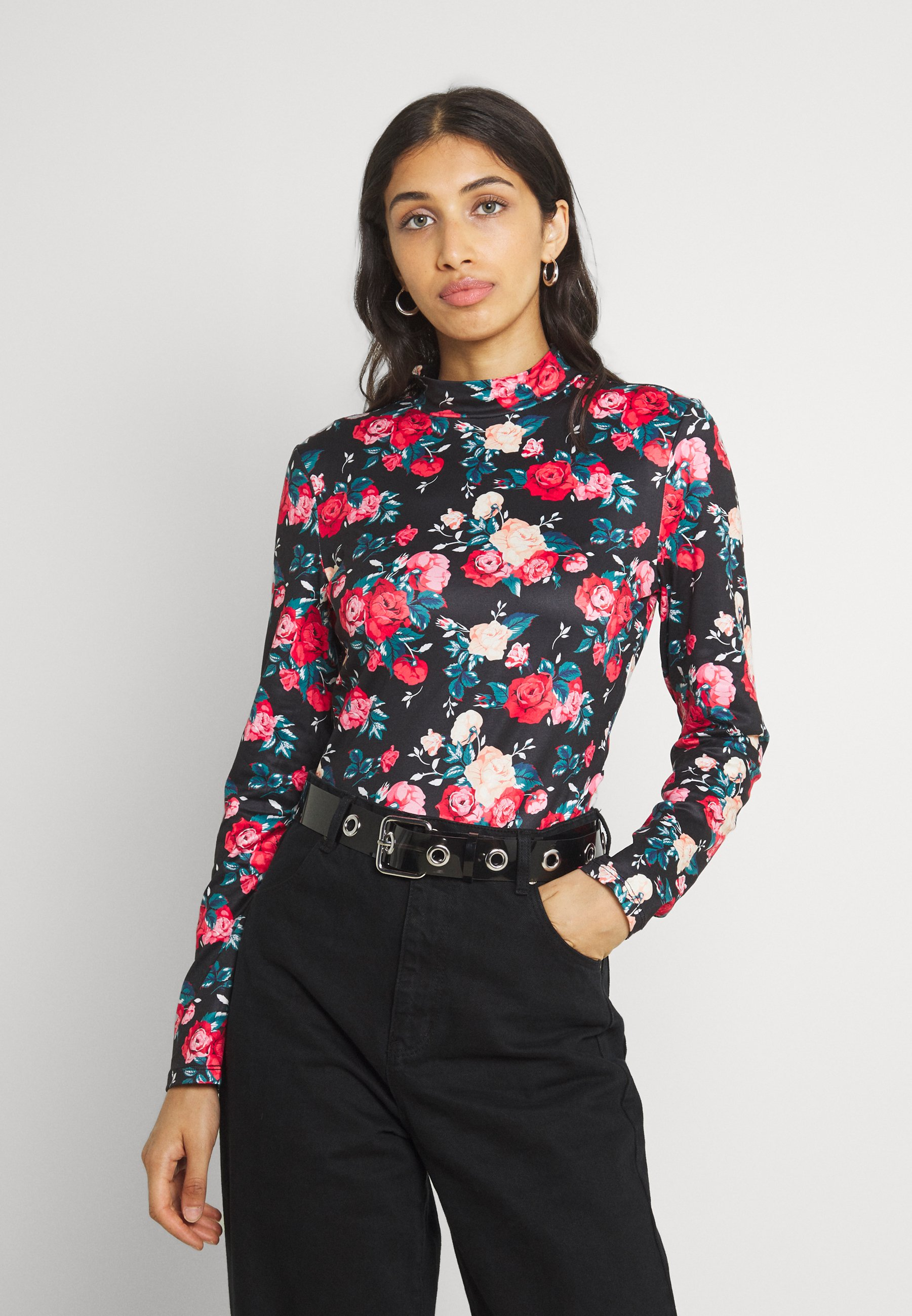 Women VIBE HIGHNECK - Long sleeved top