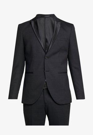 SLHSLIM REX TUX SUIT - Suit - dark grey melange
