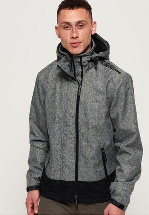 MIT KAPUZE - Windbreaker - mottled medium grey