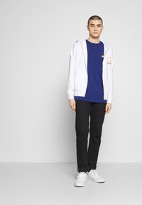 Diesel - BRANDON - Zip-up hoodie - white - 1