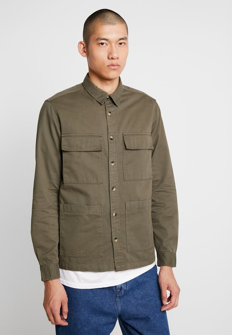 Burton Menswear London - SHACKET - Chemise - khaki