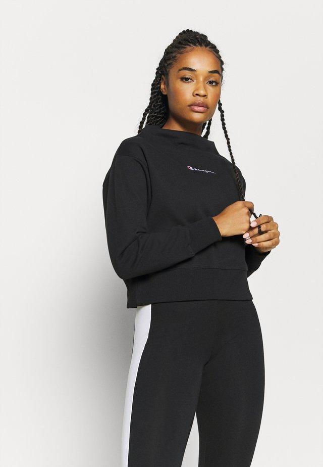 HIGH NECK ROCHESTER - Sweatshirt - black