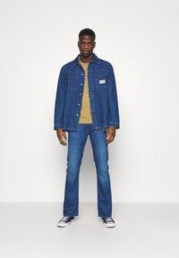 Lee - TRENTON - Jeans straight leg - mid blue - 1