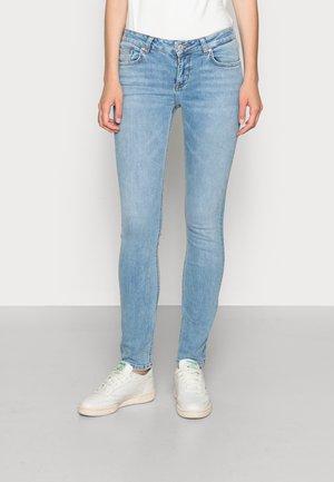 ASPEN  - Slim fit jeans - light-blue denim