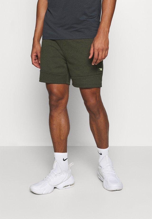 JJIAIR - Pantaloncini sportivi - deep lichen green