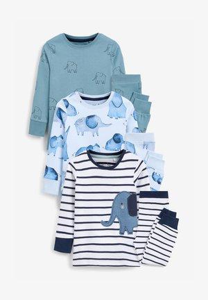 3 PACK - Pyjama bottoms - blue