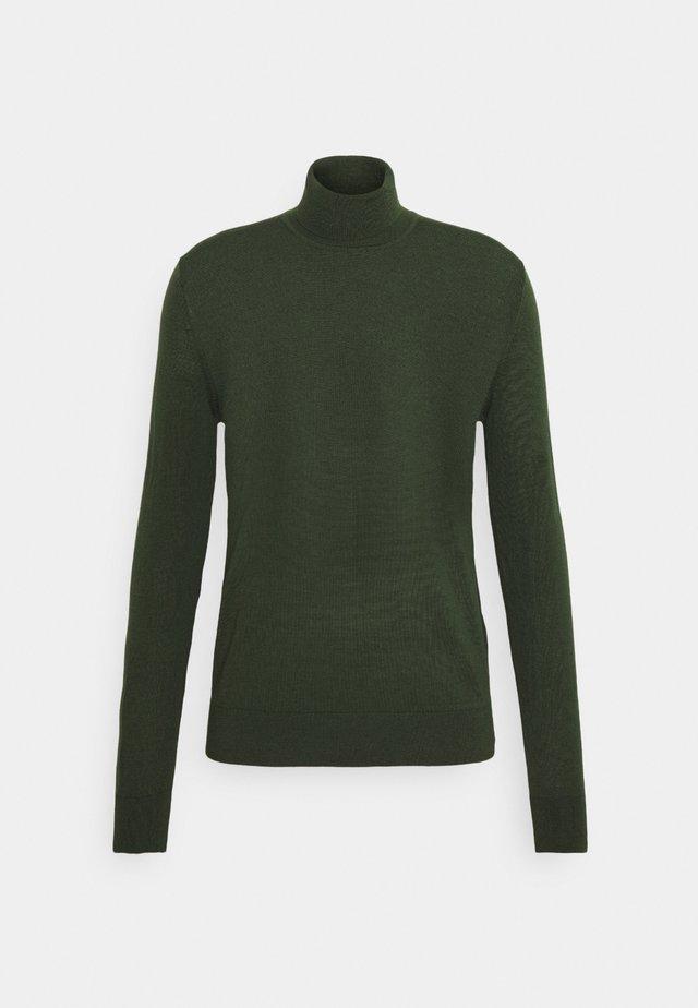 FLEMMING TURTLE NECK - Jumper - kambu green