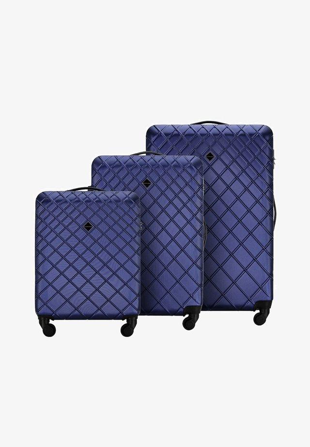 Wheeled suitcase - dunkelblau
