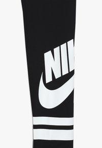 Nike Sportswear - FAVORITE  - Legíny - black/white - 3
