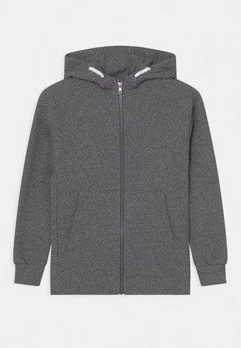 ZIP HOODY - Zip-up sweatshirt - charcoal
