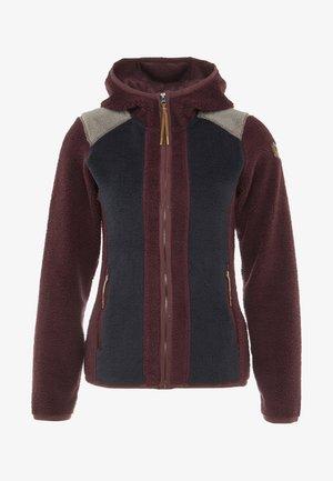 AMENIA - Fleece jacket - wine