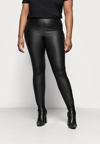 PCSKIN PARO CURVE - Trousers - black