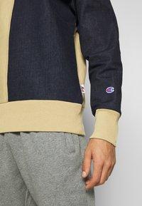 Champion - MLB NEW YORK YANKEES CREWNECK - Club wear - beige/dark blue - 7