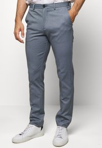 Selected Homme - SLHSLIM-AIDEN - Tygbyxor - light blue - 0