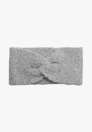 MIT KNOTEN DETAIL - Ear warmers - grey knit