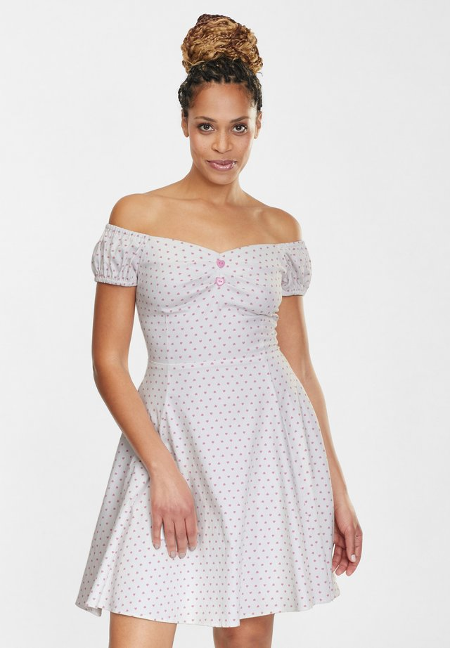 DOLORES LOVE HEART DOLL  - Cocktail dress / Party dress - pink