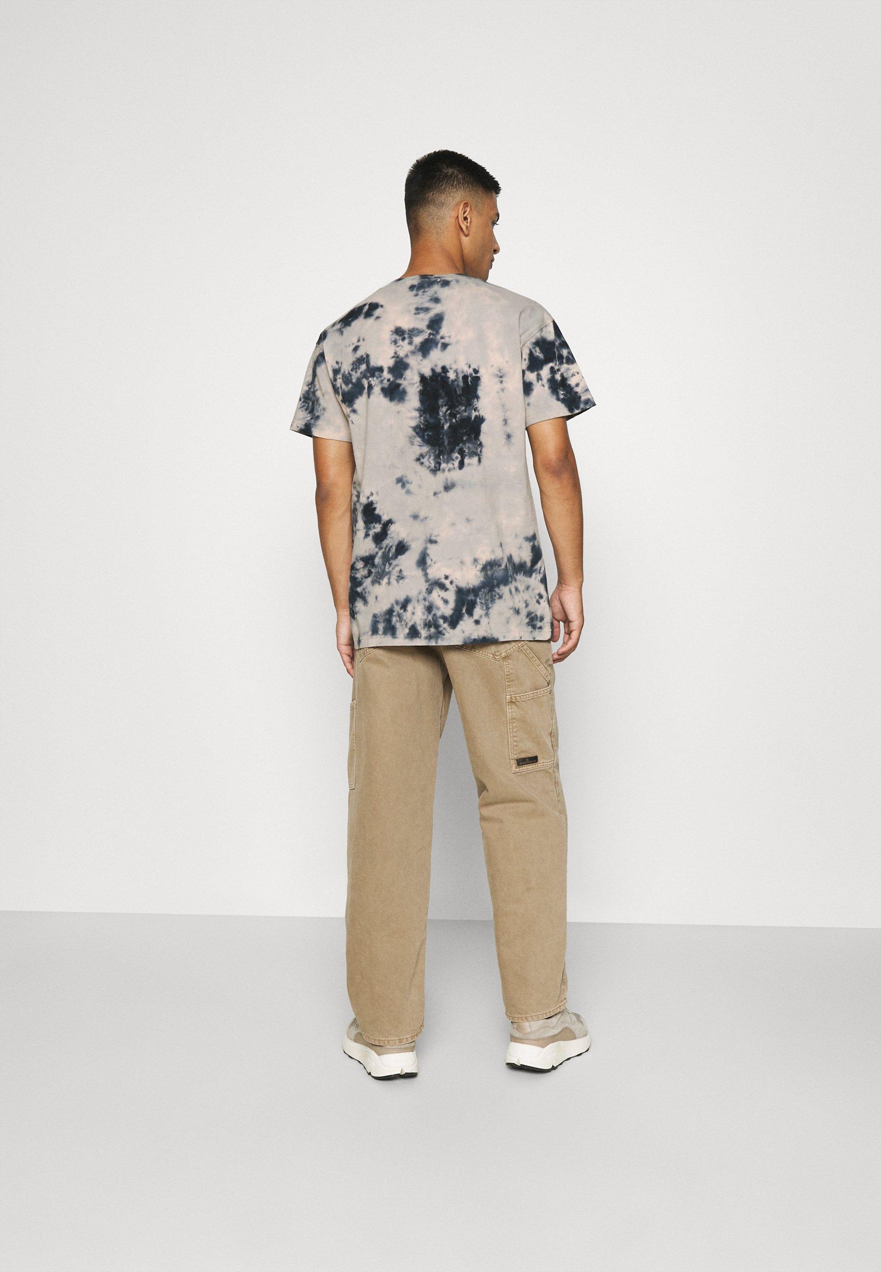Men ROSEBOWL TIE DYE REGULAR - Print T-shirt