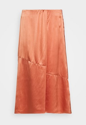 SKIRT - A-line skirt - smooth rosewood