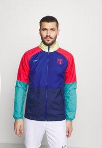 Nike Performance - FC BARCELONA - Club wear - deep royal blue/blue void/oracle aqua - 0