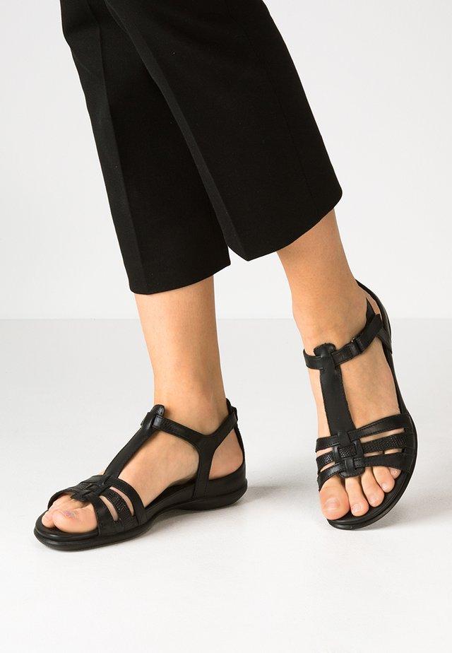 ECCO FLASH - Sandaalit nilkkaremmillä - black