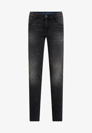 JONGENS MET SPETTERS DETAILS - Jeans Skinny Fit - black