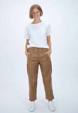 LUDWIG - Trousers - brown