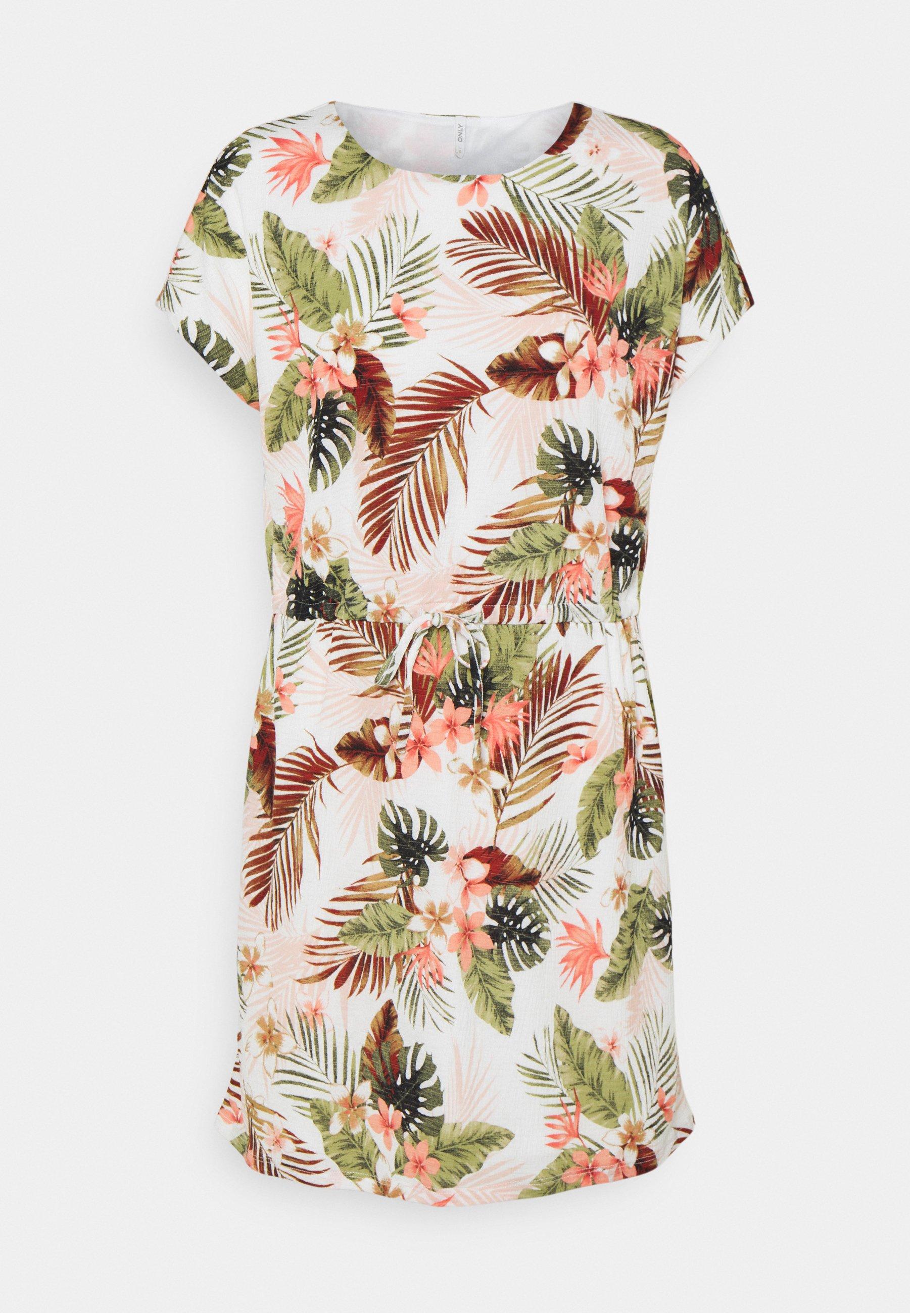 Women ONLPELLA MAY DRESS - Jersey dress
