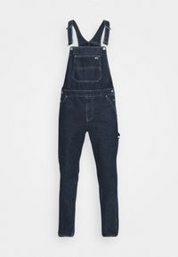 Tommy Jeans - DUNGAREE - Straight leg -farkut - save dark blue rigid - 5