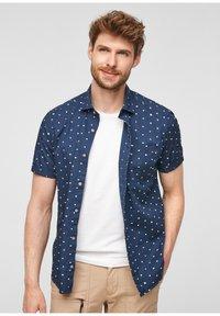 s.Oliver - KURZARM - Shirt - blue - 11