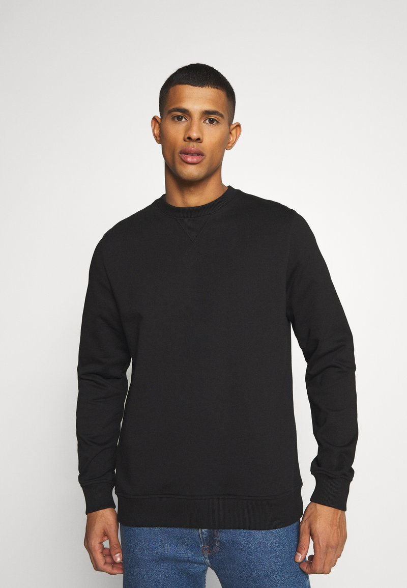 Samsøe Samsøe - CREW NECK  - Collegepaita - black