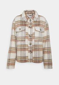 JDYLOLES ANIMAL SHIRT SHACKET - Summer jacket - woodrose