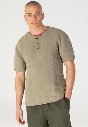 T-shirt basic - mud green